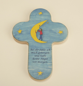 "Kinderkreuz ""Mond mit Kind"""