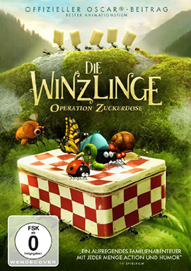 Die Winzlinge - Operation Zuckerdose, 1 DVD
